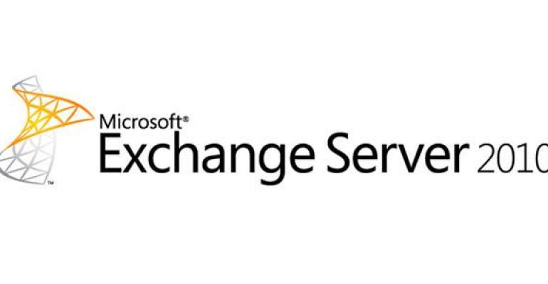 Downgrading an Exchange 2010 Server