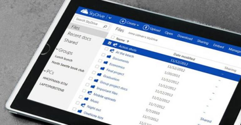 SkyDrive Brings the Cloud to You