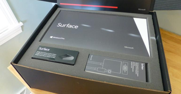 Microsoft Surface with Windows 8 Pro Unboxing