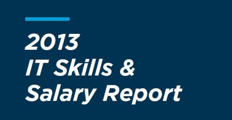 2013 IT Skills and Salary Report