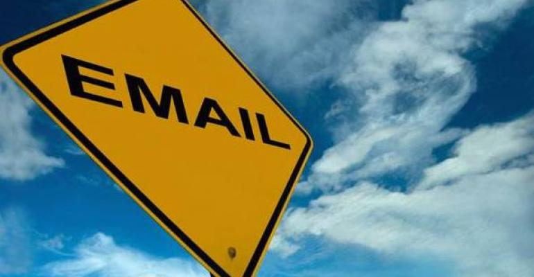 Exchange Server email management with PST files yield sign