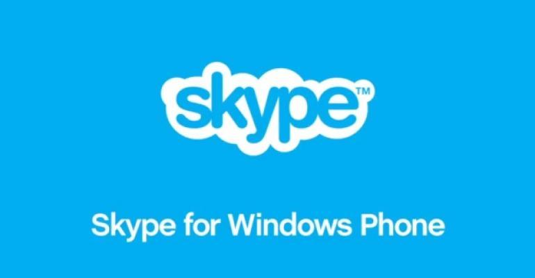 Windows Phone 8 App Pick: Skype 2.4