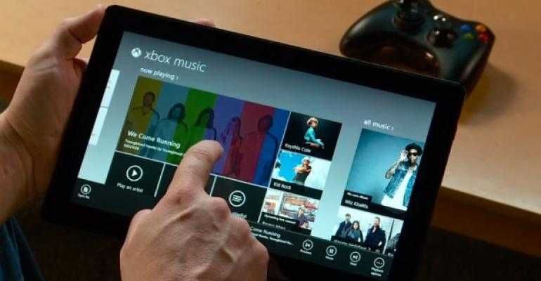 Xbox Music Book: First Draft Complete