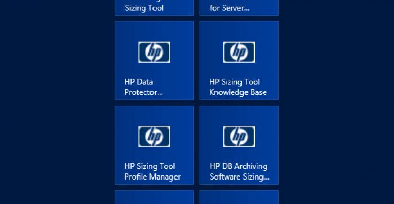 HP Unified Sizer