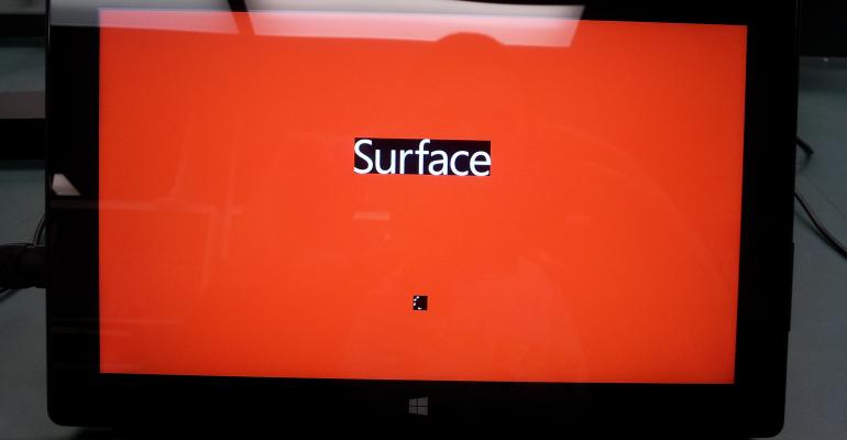 Fixing the Red Screen-after-update issue with the Microsoft Surface