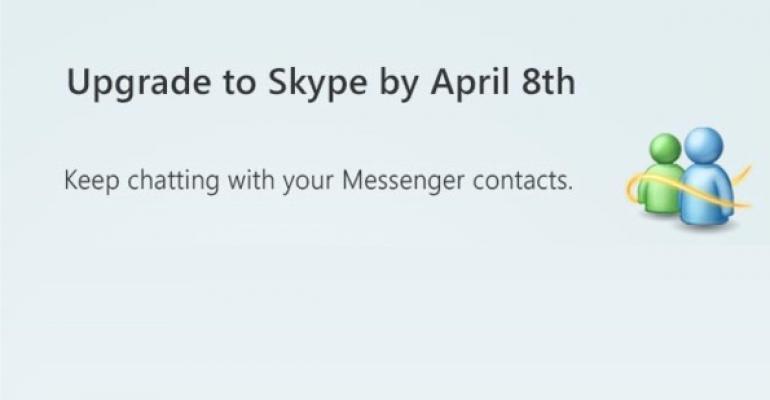 Windows Live Messenger, R.I.P.