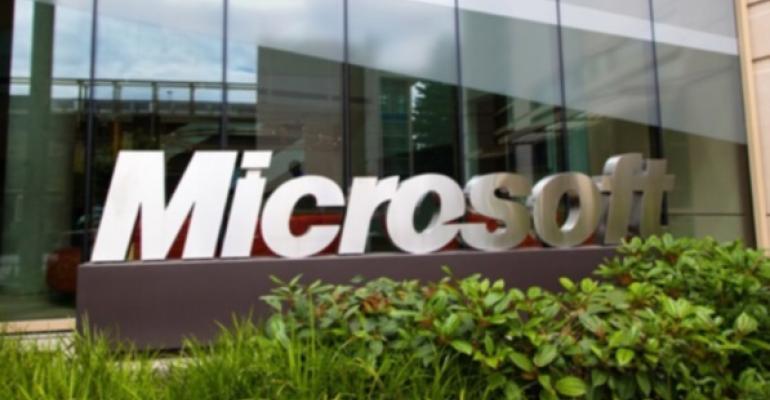 Microsoft Reports Record Revenues in PC Slump