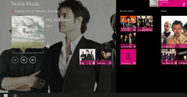 Windows 8 App Pick: Nokia Music