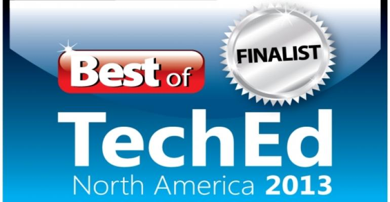 Best of TechEd 2013 Finalists Announced!