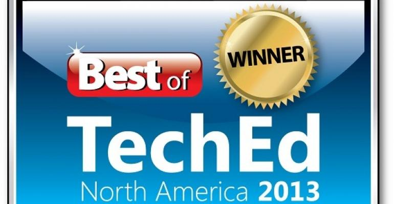 Congratulations to Our Best of TechEd 2013 Winners