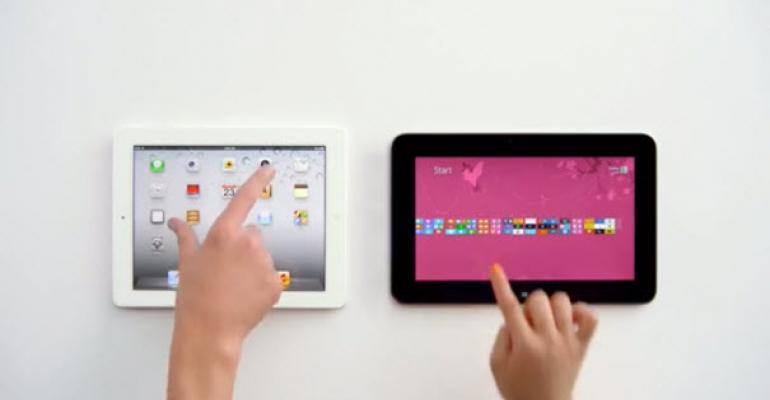 Windows 8 Tablet versus iPad: The Sequel