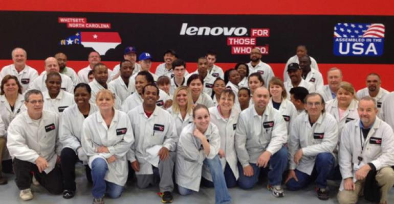 Lenovo Opens PC Manufacturing Facility in the United States