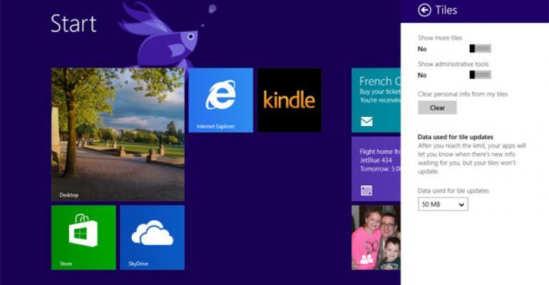 Windows 8.1 Tip: Show More Tiles