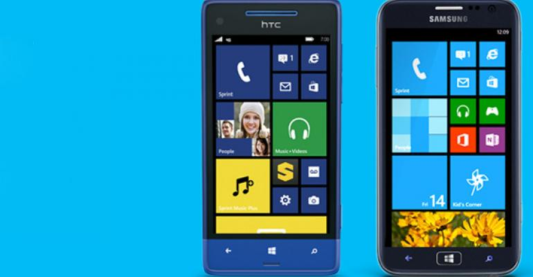 Sprint Announces its First Windows Phone 8 Handsets