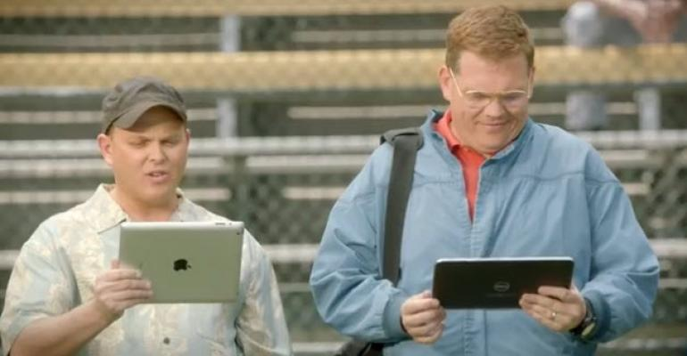 Microsoft's Latest iPad vs. Windows 8 Commercial Targets Multitasking and Baseball