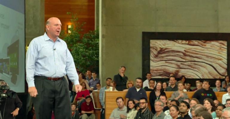 Microsofts Steve Ballmer