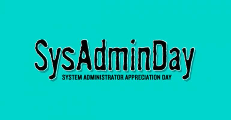 Clear Your Desk for Cake! SysAdminDay Approaches
