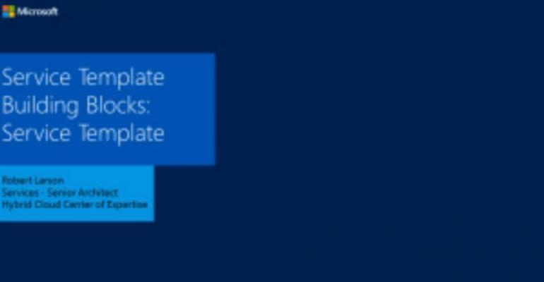 Video: Creating Time-saving VMM Templates for Automating Virtual Machines