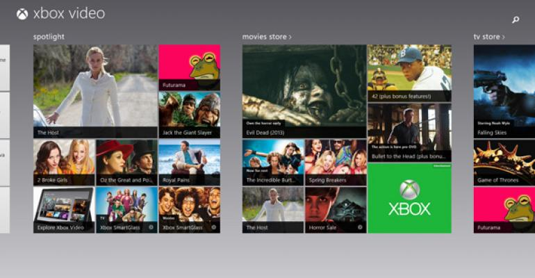 Hands-On with Windows 8.1: Xbox Video App