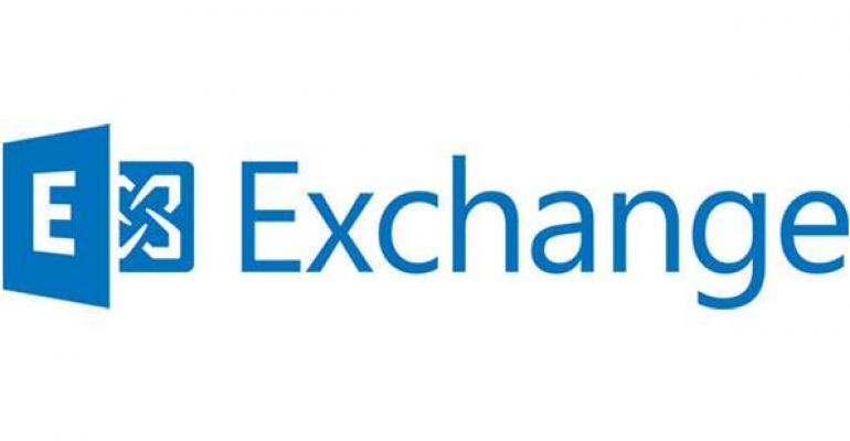 Exchange and cloud application platforms - soon to be commonplace?