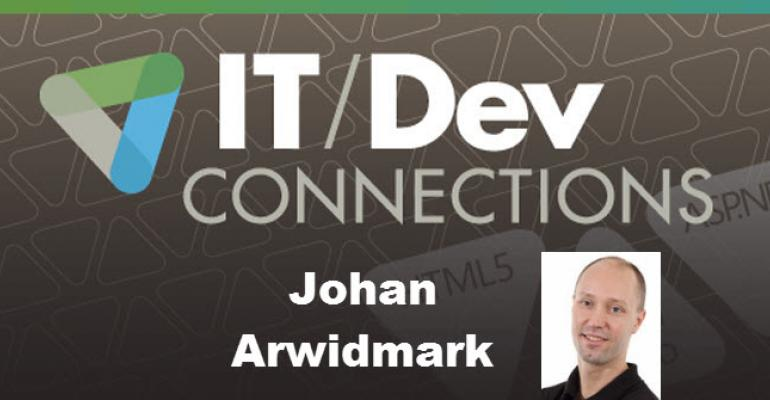 IT/Dev Connections Speaker Highlight: Johan Arwidmark