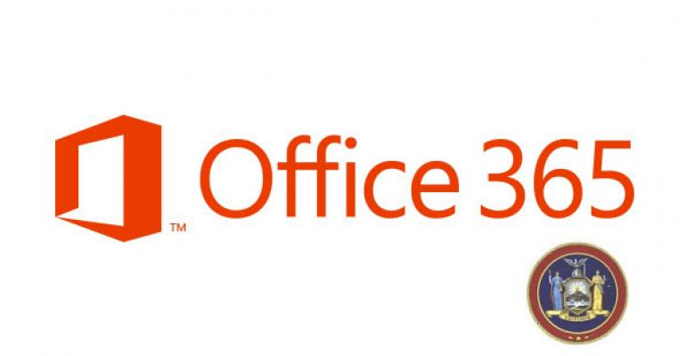 New York to Roll Out Office 365 Statewide by the End of 2013