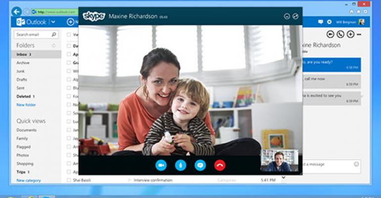 Skype Integration Officially Releases for Outlook.com