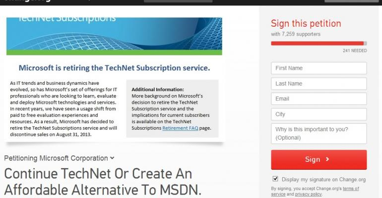 The sad, curious, and brain-dead demise of TechNet subscriptions
