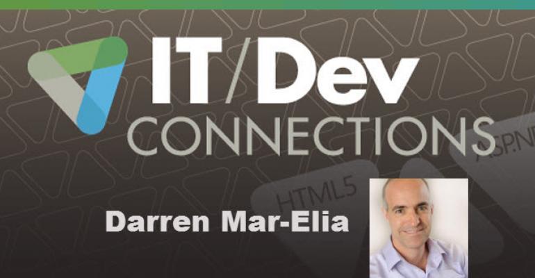 IT/Dev Connections Speaker Highlight: Darren Mar-Elia