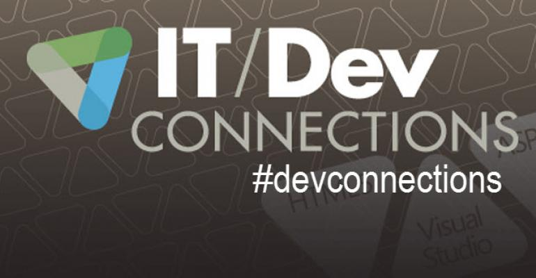IT/Dev Connections Official Hashtag and a Twitter Tip for Windows Phone