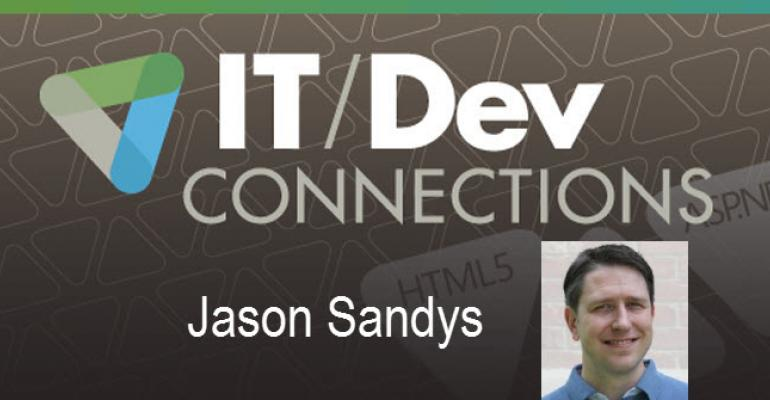 IT/Dev Connections Speaker Highlight: Jason Sandys