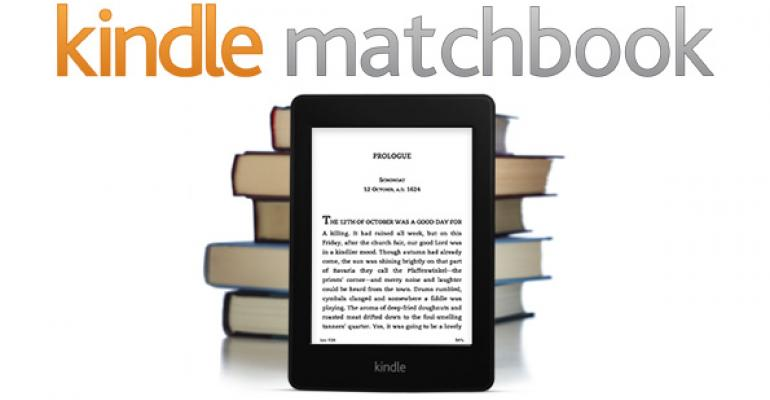 Kindle MatchBook Program to Offer Customers Inexpensive Kindle eBook Upgrades from Paper Books