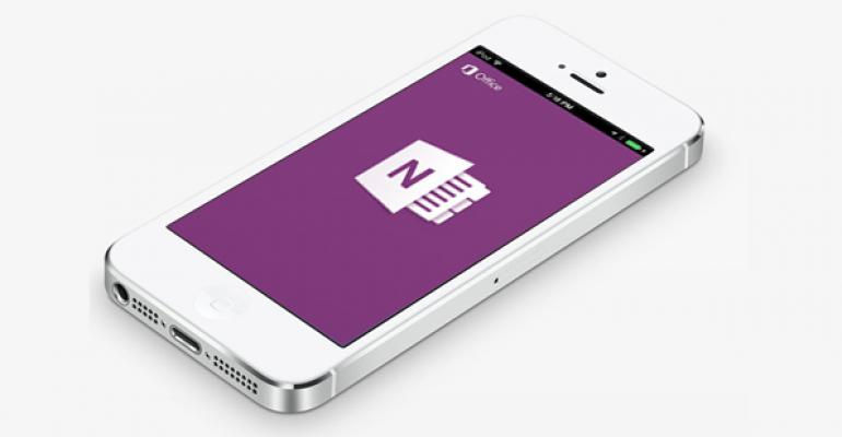 OneNote Mobile for iPhone, iPad is Untethered from the PC