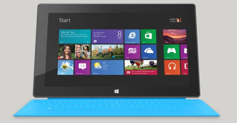 Microsoft Prepping a Surface Docking Station