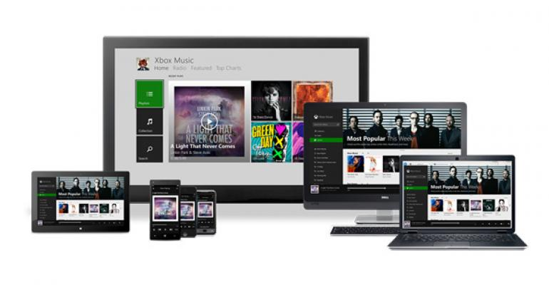 Microsoft Releases Xbox Music for Android, iOS