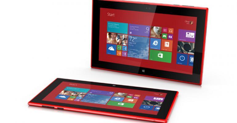 Nokia Lumia 2520 – Visually