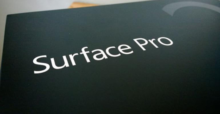 Microsoft Surface Pro 2: First Impressions and Photos