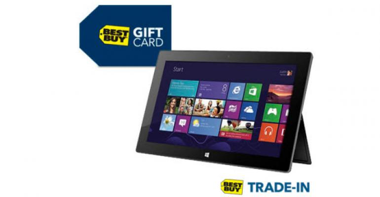 Best Buy Offering In-Store Cash for Your Old Microsoft Surface