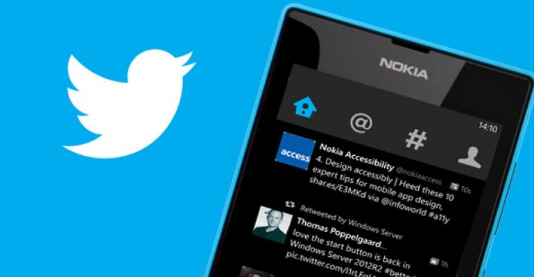 Twitter App for Windows Phone 8 Updated to Version 3.0