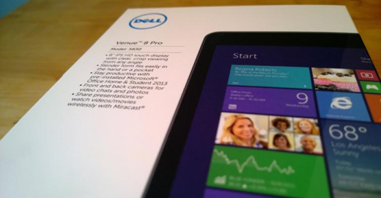Dell Venue 8 Pro: First Impressions and Screenshots