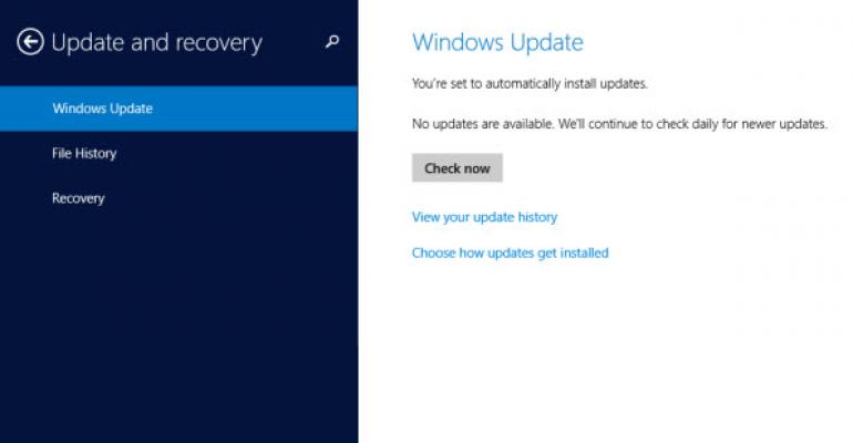 Two Rollups Already Released for Windows 8.1 and Windows Server 2012 R2