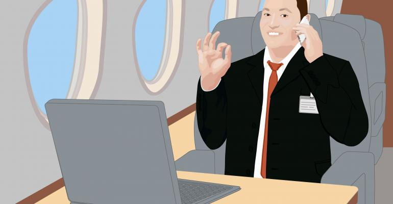 Europe Beats US to the Punch, Approving In-Flight Cell Phone Calls and Texting Above 3000 Meters