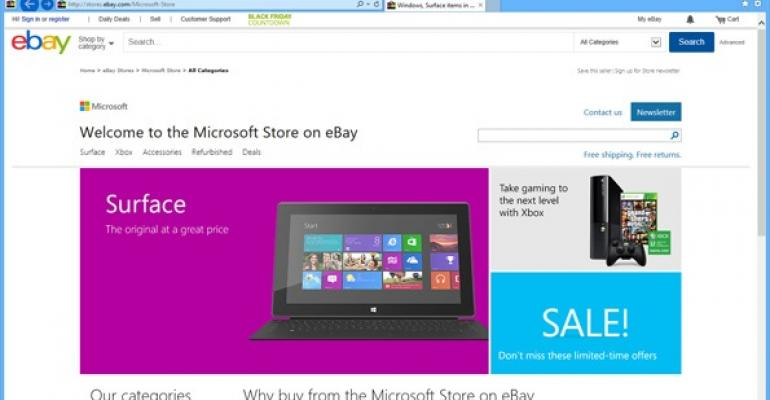 Microsoft Store on eBay