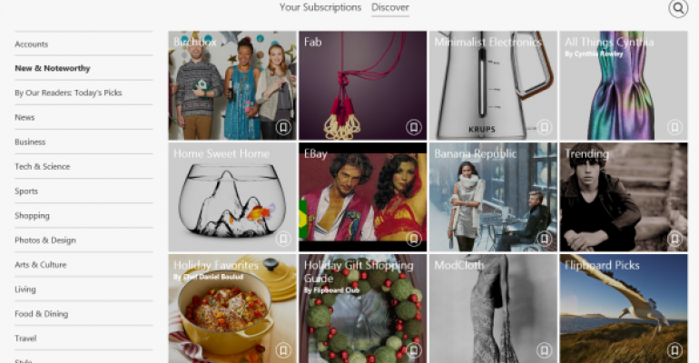 Flipboard Releases for Windows 8.1, and It's Good