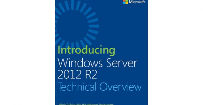 New eBook Featuring the Technical Innards of Windows Server 2012 R2