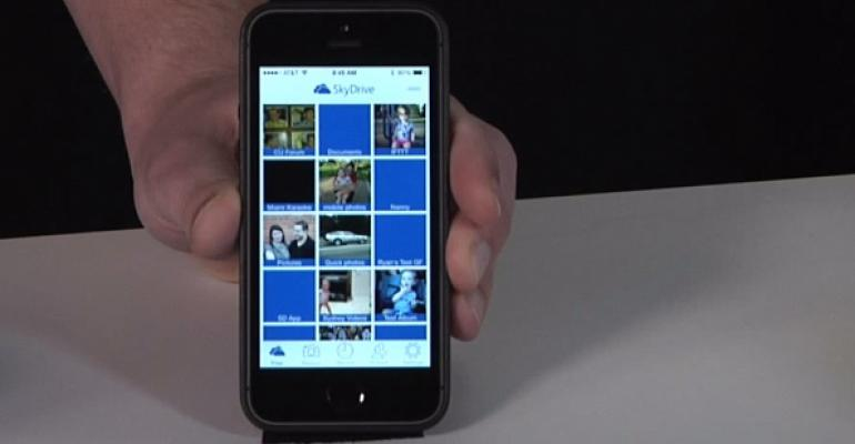 SkyDrive Updated with New iOS App, Better Facebook Photo Sharing