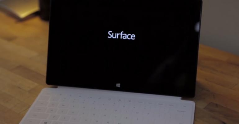 Microsoft Surface Firmware Updates for November 2013