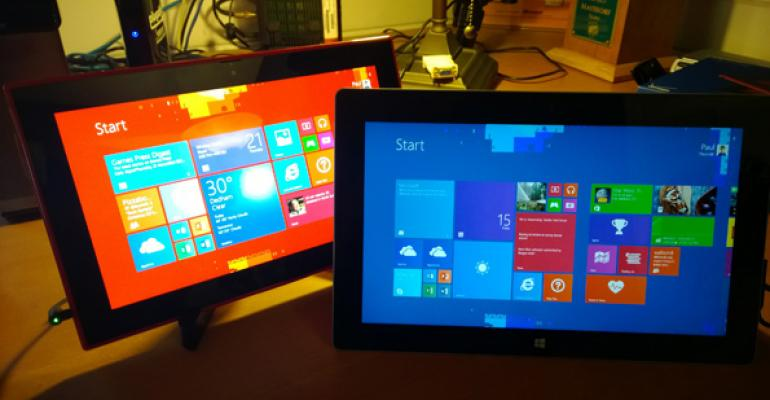 Lumia 2520 vs. Surface 2: Understanding the Trade-offs