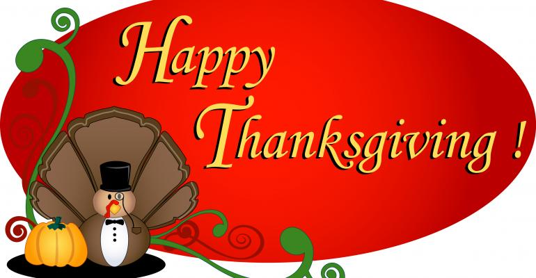 Happy Thanksgiving from Windows IT Pro!