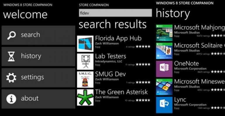 New App Allows Bored Windows Phone Users to Window Shop the Windows 8 Store